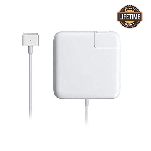 RAYI Mac Book Pro Charger-Magsafe 2 Power Adapter T-Tip Magnetic Connector Charger Suitable for Mac Book Pro 13,15,17-inch and Mac Book Air with Retina Display- 5.5 feet Cord (85W,After Late 2012)