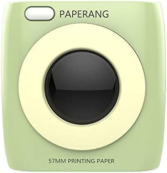 PAPERANG P2 Mini-Drucker, Bluetooth 4.0 Telefonverbindung Drahtloser Thermodrucker Kompatibel mit Android iOS [Globale Version]