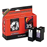LEXMARK ink cartridge no. 34/35 combo pack