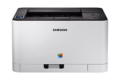 Samsung Xpress C430W Wireless Color Laser Printer with Simple NFC + WiFi Connectivity and Built-in Ethernet, Amazon Dash Replenishment Enabled (SS230G)