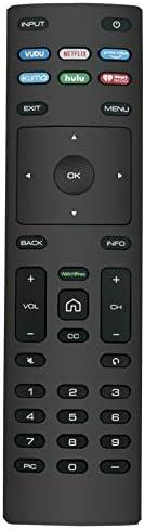 Remote Control fit for VIZIO Smart TV D50x-G9 D65x-G4 D55x-G1 D40f-G9 D43f-F1 D70-F3 V505-G9 D32h-F1 D24h-G9 E70-F3 D43-F1 V705-G3 P75-F1 D55x-G1 V405-G9 E75-F2 D32f-F1 D24f-F1 D43fx-F4 V655-G9