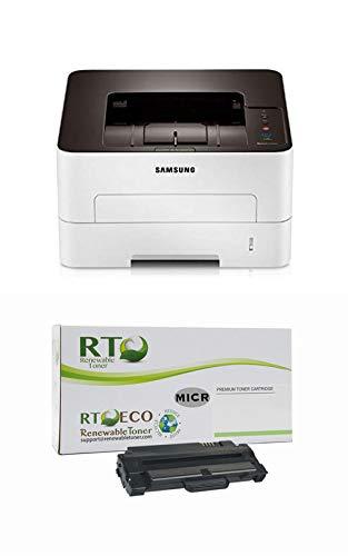 Renewable Toner M2825DW MICR Check Printer Bundle with 1 RT Compatible Samsung MLT-D116L MICR Toner Cartridge
