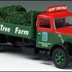 LIONELVILLE PINE PEAK TREE FARM CHRISTMAS TRUCK 1:50 Scale 31bxsRK5GTL