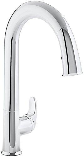 KOHLER K-72218-CP Sensate Touchless Kitchen Faucet
