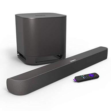 Roku-Smart-Soundbar-4KHDHDR-Streaming-Media-Player-Exceptional-Audio-Includes-Roku-Voice-Remote-Roku-Wireless-Subwoofer