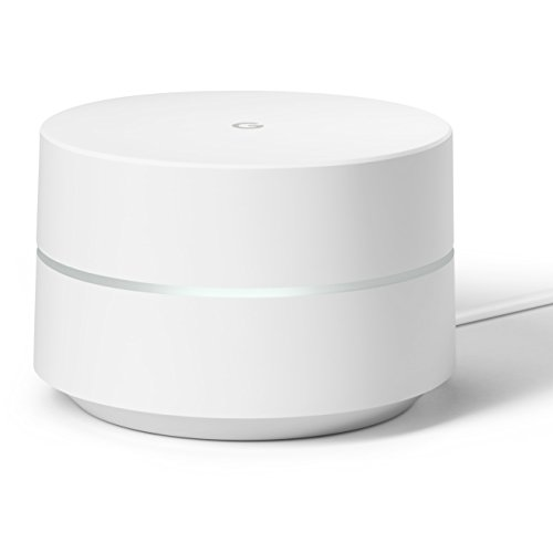 Google WiFi system, 1-Pack - Router replacement for whole home coverage