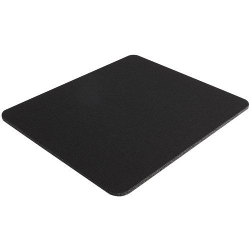 Belkin Standard 8-Inch by 9-Inch Computer Mouse Pad with Neoprene Backing and Jersey Surface (Black) (F8E089-BLK)