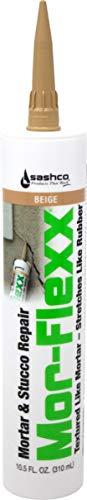 Sashco 15010 10.5oz Sashco Sealants Beige MorFlexx Grout Repair, 10.5-Ounce