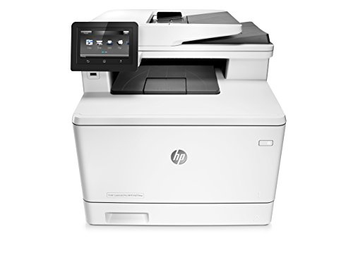 HP LaserJet Pro M477fdw All-in-One Wireless Color Laser Printer with Double-Sided Printing, Amazon Dash Replenishment ready (CF379A)