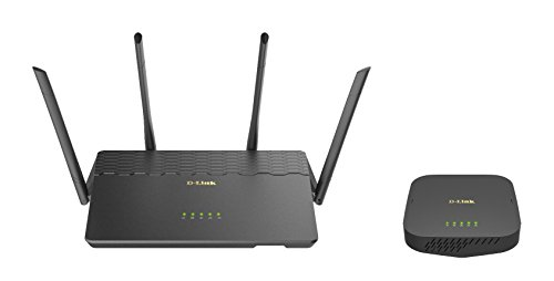 D-Link COVR AC3900 Whole Home Wi-Fi System - Coverage up to 6,000 sq. ft, MU-MIMO Wi-Fi Router and Seamless Extender (COVR-3902-US)