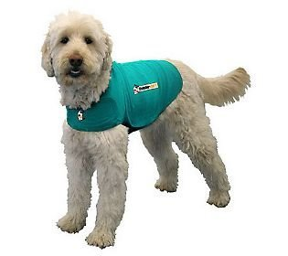 Thundershirt Dog Jacket for Anxiety, Green 1