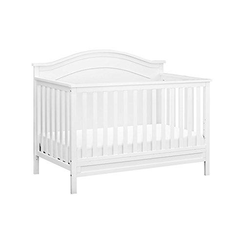 DaVinci Charlie 4-in-1 Convertible Crib, White