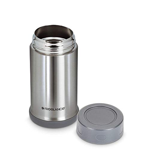 31d51AaUO2L - Freelance Tomahawk Vacuum Insulated Stainless Steel Flask, Water Beverage Travel Bottle, 500 ml, Silver (1 Year Warranty)