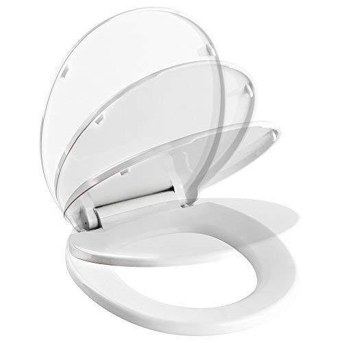 Newport Round Soft Close Toilet Seat