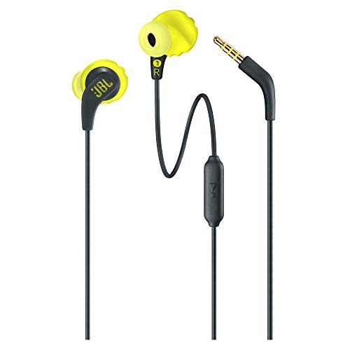 JBL Endurance Run Sweat-Proof Sports in-Ear Headphones with One-Button Remote and Microphone (Yellow) Specifications Feedback & Reviews