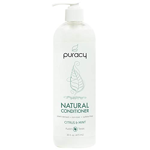 Puracy Natural Conditioner, Hypoallergenic, Silicone-Free, All Hair Types, 16 Ounce