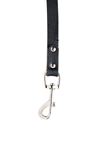 Mighty Paw Leather Dog Leash, Super Soft Distressed Leather- Premium Quality, Modern Stylish Look 2