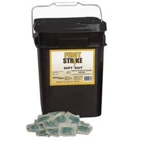 first strike soft bait rat/mice rodenticide poison