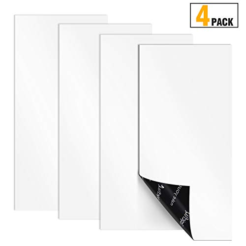 Magicfly Magnetic Vent Covers, 4 Pack, 12' x 5.5' Ultra Thick Magnet for Vents in Homes, Air Grills, Registers, RVs, HVAC Units, (Not for Ceiling Or Aluminum Vents)