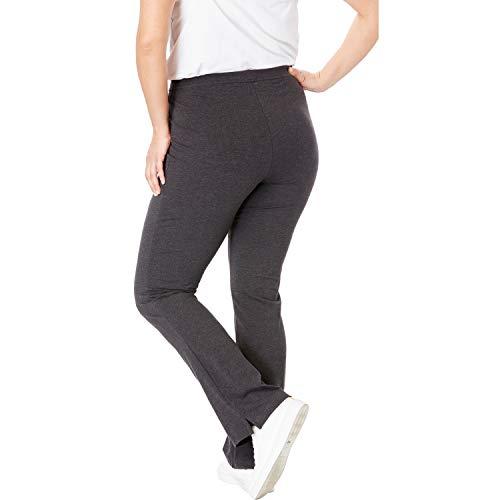 Plus size bootcut yoga pants tall