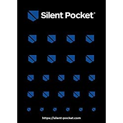 Silent Pocket Webcam Privacy Stickers for Camera Lens Privacy (Black/Blue)