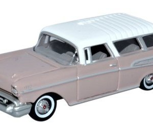 Oxford Diecast 87CN57001 Chevrolet Nomad 1957 Dusk Pearl/Imperial Ivory 1:87 Scale 31eWgoQMwDL