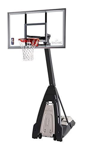 Spalding NBA 'The Beast' Portable Basketball System - 60' Glass Backboard