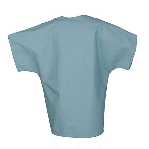 MEDICLE SCRUBS Scrub Tops for Women Men Unisex V-Neck Medical Nurse Uniforms with One Chest Pocket Dolman Style Sleeve deal 50% off 31egjvc3jCL