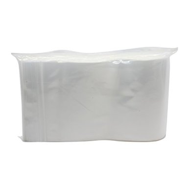 Rok-Pack-of-100-Heavy-Duty-6-x-9-Resealable-4Mil-Thick-Plastic-Big-Clear-Poly-Zip-Lock-Food-Safe-Storage-Bags