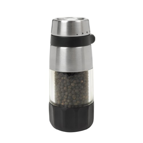 OXO Good Grips Accent Mess Free Pepper Grinder, Stainless Steel