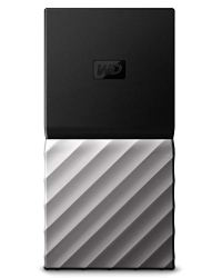 WD 1TB My Passport SSD Portable Storage - USB 3.1 - Black-Gray - WDBKVX0010PSL-WESN