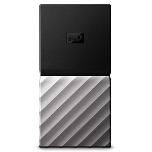 WD 1TB My Passport SSD Portable Storage - USB 3.1 - Black-Gray - WDBKVX0010PSL-WESN