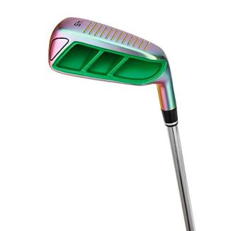 MAZEL Golf Pitching & Chipper Wedge,Right Handed,35,45,55 Degree Available for Men & Women (Right, Stainless Steel (Black Head), S, 55)