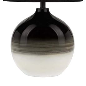 Catalina-Lighting-21750-001-Mid-Century-Modern-Electroplated-Ombre-Glass-Gourd-Table-Lamp-30-BlackWhite