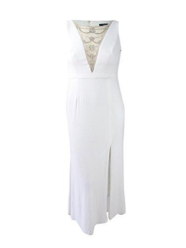 51vmK9ppamL Adrianna Papell Size Guide Easy elegance. Evening gown flaunts a sleek column silhouette.