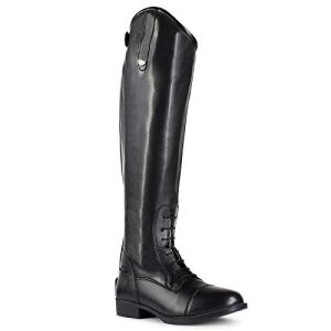 HORZE Women's Rover Tall, Synthetic Leather, British Horse Riding Field Boots with Laces and Rear Zipper | US Sizes…
