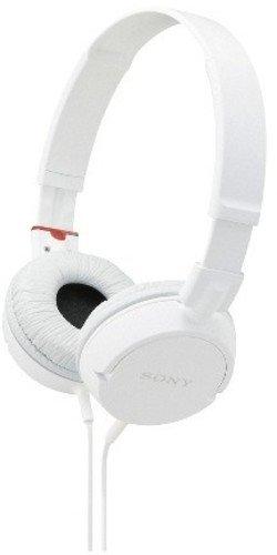 Sony MDR-ZX110/WCUC Audífonos de Diadema Plegables y Giratorios, color Blanco