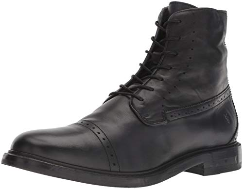 FRYE Men's Murray LACE UP Fashion Boot, black, 10 M M US