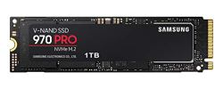Samsung 970 PRO Series - 1TB PCIe NVMe - M.2 Internal SSD Black/Red (MZ-V7P1T0BW)