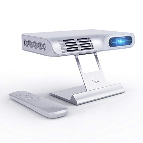 PIQS TT Mini Video Projector Kit, DLP Home Theater Projector with Stand Includes Projector and Stand.