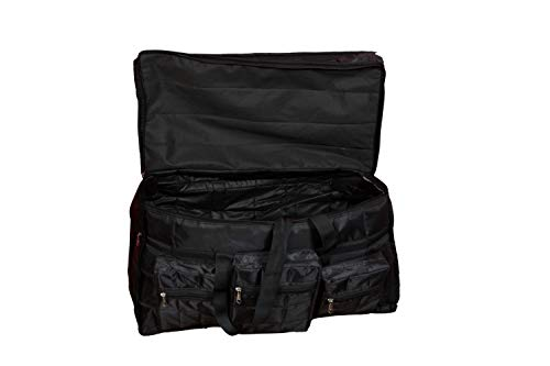31gVpKB MBL - Home Store India Fabric 14 Inches Soft Travel Duffle (Home Store India_Black)