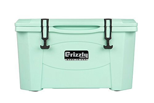 Grizzly 40 Quart Sea Foam Green Cooler