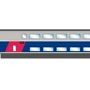 JOUEF HJ3003 SNCF TFV 2N2 Euroduplex 1st Class Coach VI 31gg4KJox2L