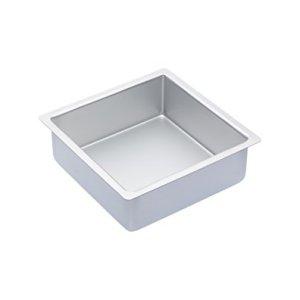MasterClass Silver Anodised Deep Square Cake Tin, 20 cm (8″) 31hBiU3UsuL