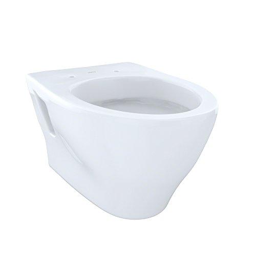 TOTO Aquia Wall-Hung Dual-Flush Toilet Bowl