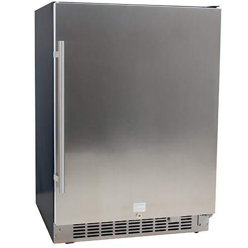 EdgeStar CBR1501SLD 5.49 Cu. Ft 142 Can Built-in Stainless Steel Beverage Cooler
