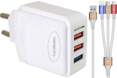 USB wall fast charger adapter with fast charging micro USB cables mobile charger