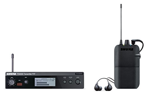 Shure P3TR112GR PSM300 Wireless Stereo Personal Monitor System with SE112-GR Earphones, J13
