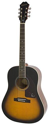 Epiphone AJ-220S Solid Top Acoustic Guitar, Vintage Sunburst