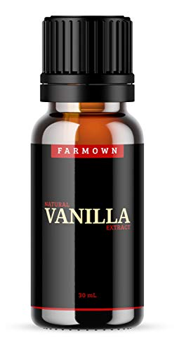 31iXPZqK1rL - FarmOwn Natural Real Vanilla Extract 30 ml Essence for Cooking, Baking, Food, Milk, Ice Cream, Cake